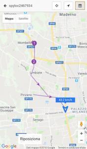 GPS per localizzare auto